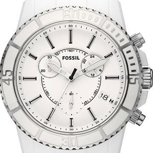 Men's Fossil Watch White CH2624